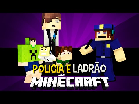 Policia e Ladrão - Presos Anormais !! c/ More Player Models Mod Minecraft