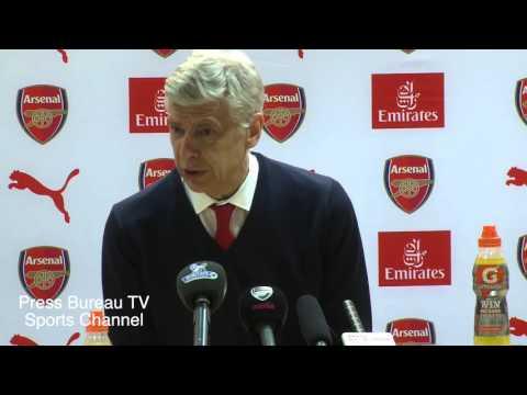 Arsene Wenger reaction Arsenal vs Norwich