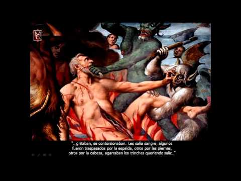 EL INFIERNO REAL (2 DE 8) VISTO POR OLIVA CON JESUS - Padre CARLOS CANCELADO, VOCES DE DEMONIOS