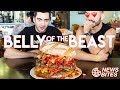 BELLY OF THE BEAST BURGER! | News Bites