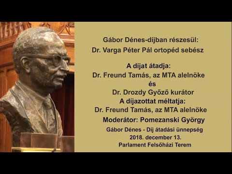 9/14 Gábor Dénes-díj 2018.