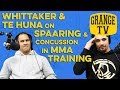 ROBERT WHITTAKER & JAMES TE HUNA on CONCUSSION in SPAARING & training