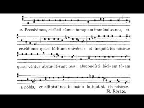 Gregorian Chant - Rorate, coeli