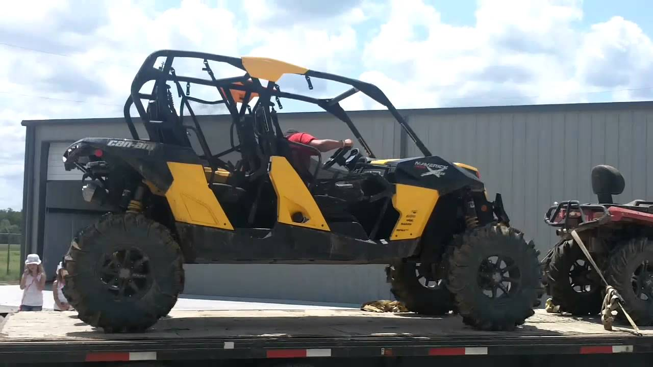 Can Am Commander For Sale >> 2014 Maverick 1000r X RS MAX Crew Cab Lifted Huge Mud ...