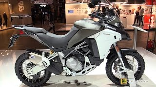 2016 Ducati 1200 Multistrada Enduro - Walkaround - Debut at 2015 EICMA Milan