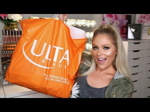 HUGE DRUGSTORE MAKEUP HAUL   NEW DRUGSTORE MAKEUP