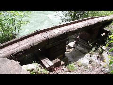 Wälderbahntrasse in der Bregenzerachschlucht: Tunnel bis Frühjahr gesperrt