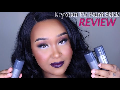 Kryolan TV Paint Stick Review | MakeupByNamaisa