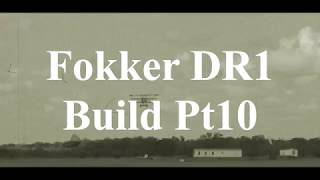 DW Hobby Fokker DR1 build Pt10 RC Model Geeks