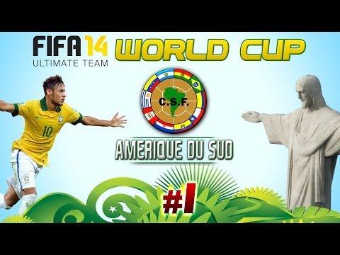 FUT14 World Cup: Amérique du sud, NEYMAR!