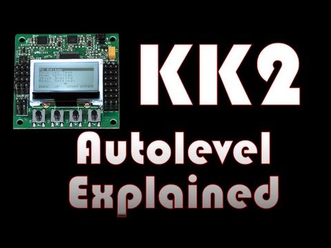 KK2 Autolevel Tuning and Explanation