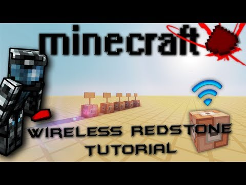 Minecraft: Command Block Wirelss Redstone