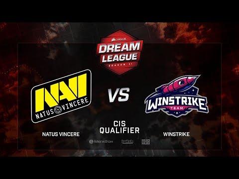 Natus Vincere vs WINSTRIKE, DreamLeague Season 11, CIS QL, bo3, game 2 [GodHunt & Lost]