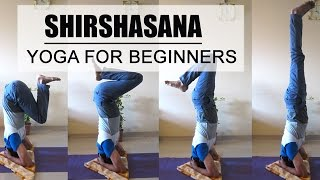 Shirshasana | Headstand Yoga For Beginners