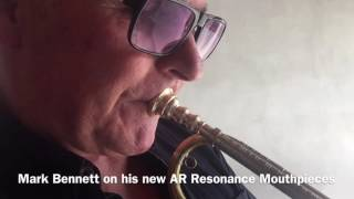 Mark Bennett on AR Resonance baroque mouthpieces
