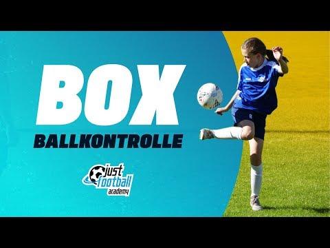 Fussballtraining: Box - Ballkontrolle - Technik