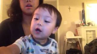 Smart Baby - 1 year old baby knows alphabet
