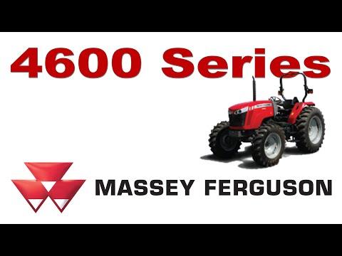 NEW Massey Ferguson 4600 Series - Utility Tractors