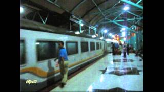 "GE-C20EMP-08 Sancaka Train entering Gubeng Station Surabaya - ""Suabaya oh Surabaya"" City of Heroes"