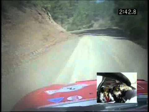 WRC Rally 2005 Turkey Carlos Sainz Onboard pure sound