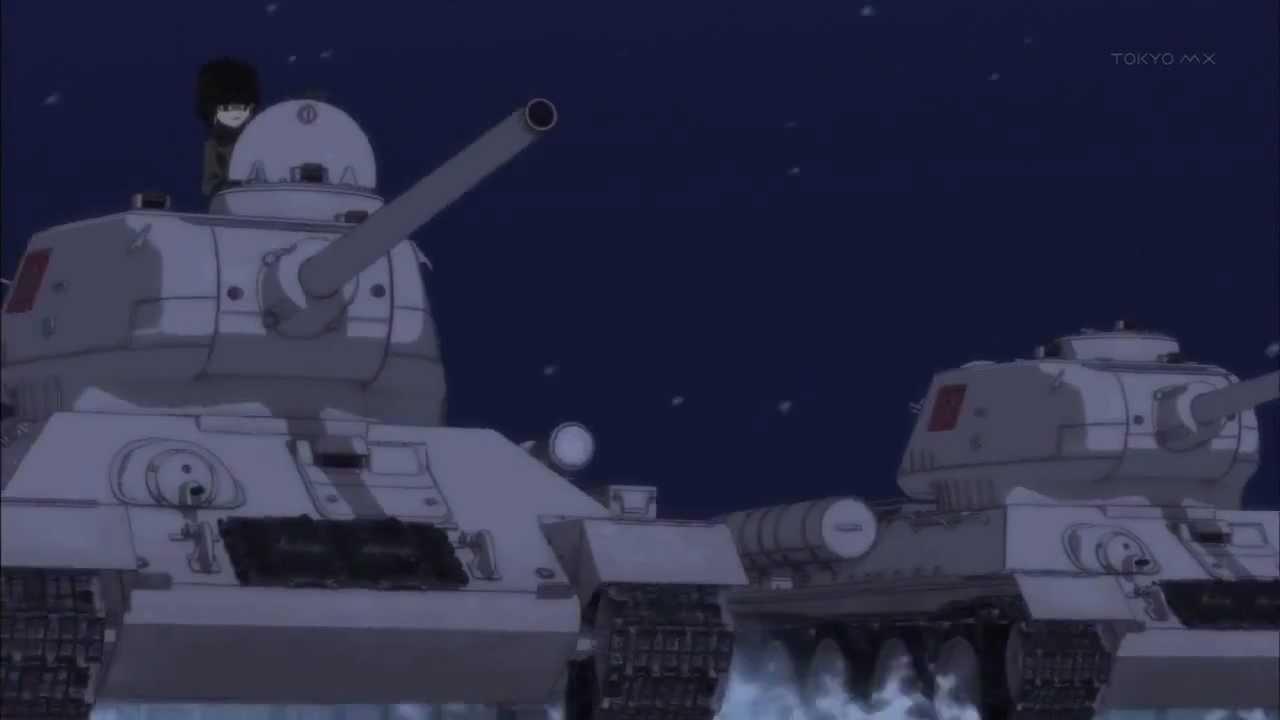 Девушки на танках рисунки