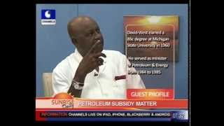 Tam David West on Fuel Subsidy Pt.1
