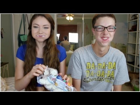 Chubby Bunny Challenge | Twin Brother