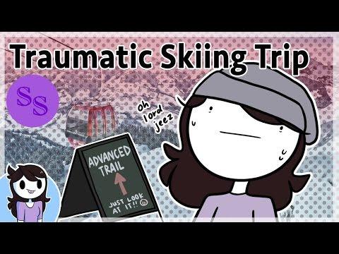 Зима и мои лыжные приключения | Анимация