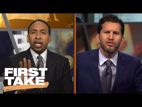 Stephen A. and Will Cain Have Verbal Battle Over Phil Jackson   First Take   June 28, 2017