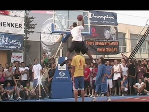 TFB::Dunks:: 6'1 Golden Child Sports Arena Romania Dunk Contest :: The Lost Footage