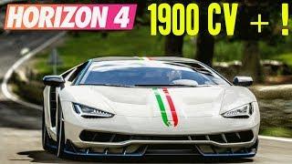 Forza Horizon 4 : 1900 CV ! TOP 5 DES VOITURES LES PLUS PUISSANTES DE FH4 !