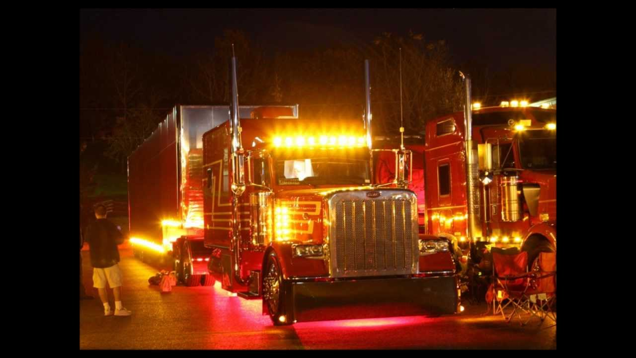 Big Rig Lights : Southern classic big rig truck show youtube