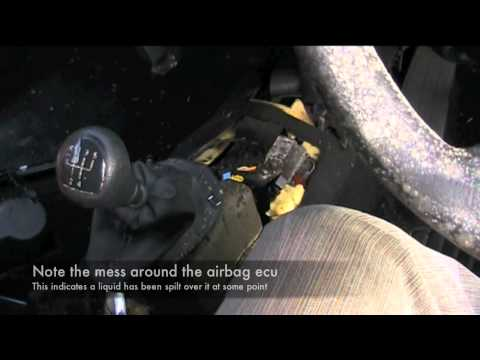 Renault Clio Airbag Light Fix