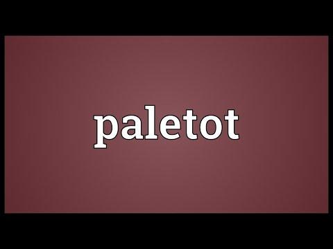 Header of paletot