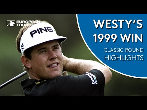 Lee Westwood shoots 63 to win 1999 KLM Open   Classic Round Highlights