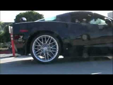 Corvette Stingray  on New Corvette Zr1 C6 Supercharged C5 Zo6 Stingray A Little Acceleration
