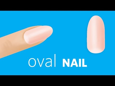 How to File Oval Nails