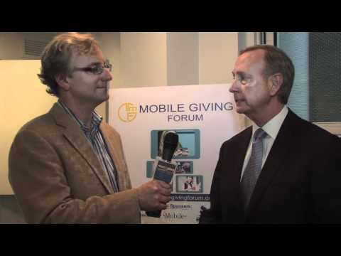 bnetTV interviews Give by Cell at the Mobile Giving Forum in NYC 2011.