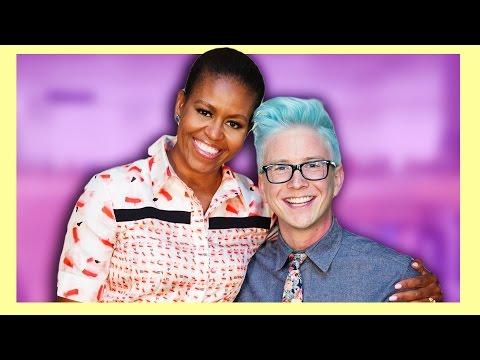 Tyler Oakley Interviews Michelle Obama thumbnail