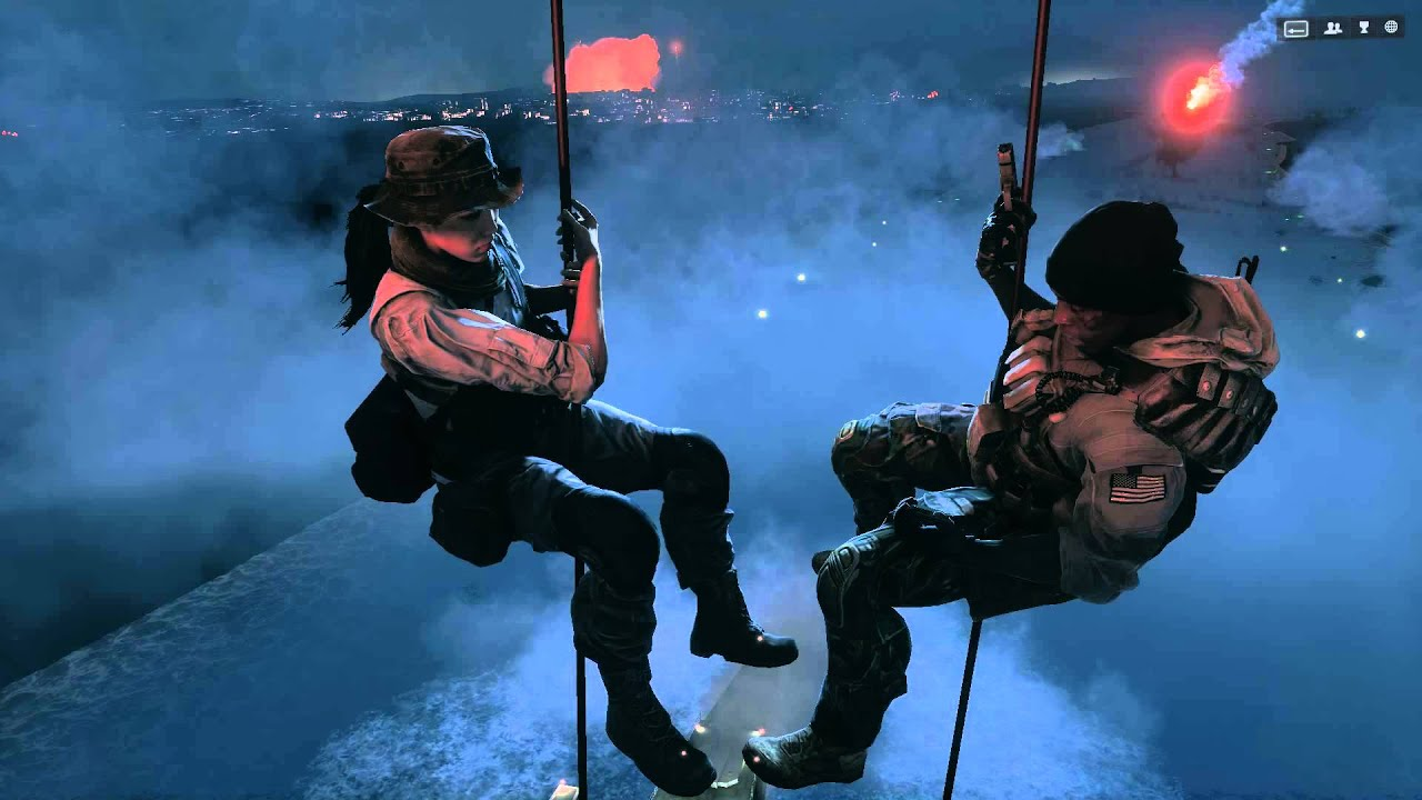 Battlefield 4 Irish or Hannah Ending Battlefield 4 Campaign Ending