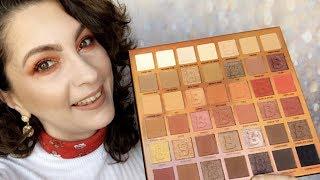 Testing Beauty Bay EYN Fiery 42 Colour Palette