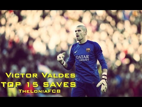 Victor Valdes ● Top 15 Saves ● 2004-2014 HD