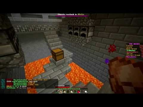 Minecraft: Hunger Games w Mitch Game 589 DEFEND THE SHIP