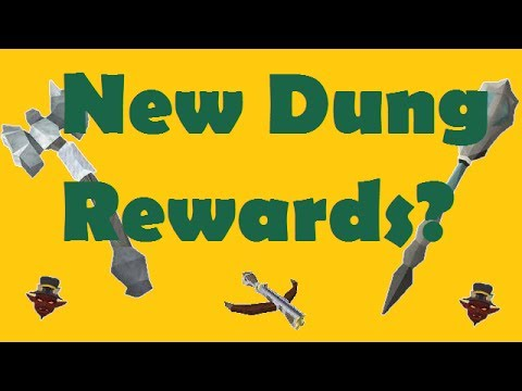 Runescape 3 - New Dungeoneering Rewards?