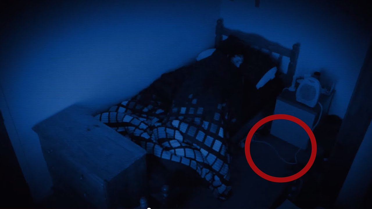 REAL Paranormal Activity Part What Does The Paranormal Activity Demon Look Like