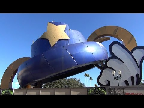Sorcerers Hat Removal Progress at Disney's Hollywood Studios From All Angles - January 26, 2015