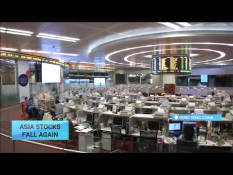Asia Stocks Fall Down: Concerns over news US Fed may continue raising interest rates
