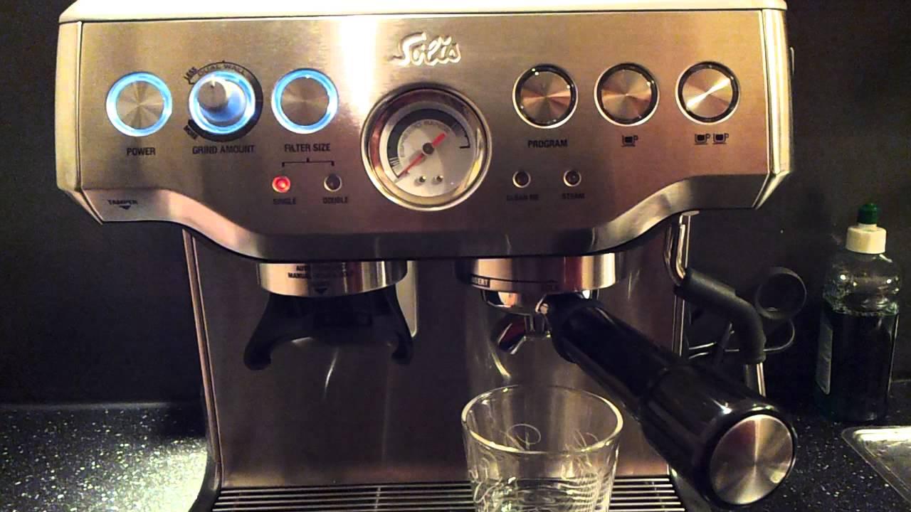 new solis barista pro type 114 first espresso youtube. Black Bedroom Furniture Sets. Home Design Ideas