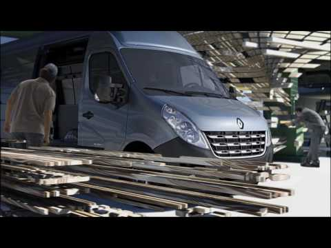 New Renault Master: the large van market's new benchmark for comfort and