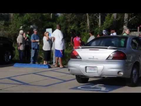 Pelican State Credit Union Grocery Store GiveAway at Carter's Supermarket